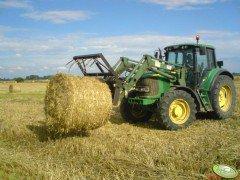Ciągnik rolniczy John Deere 6520 + tur 8