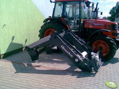 Traktor Kubota ME 8200 / Quicke Q35
