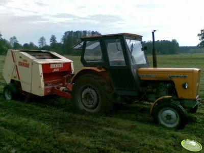 Ciągnik rolniczy Ursus C-360 + Krone KR125