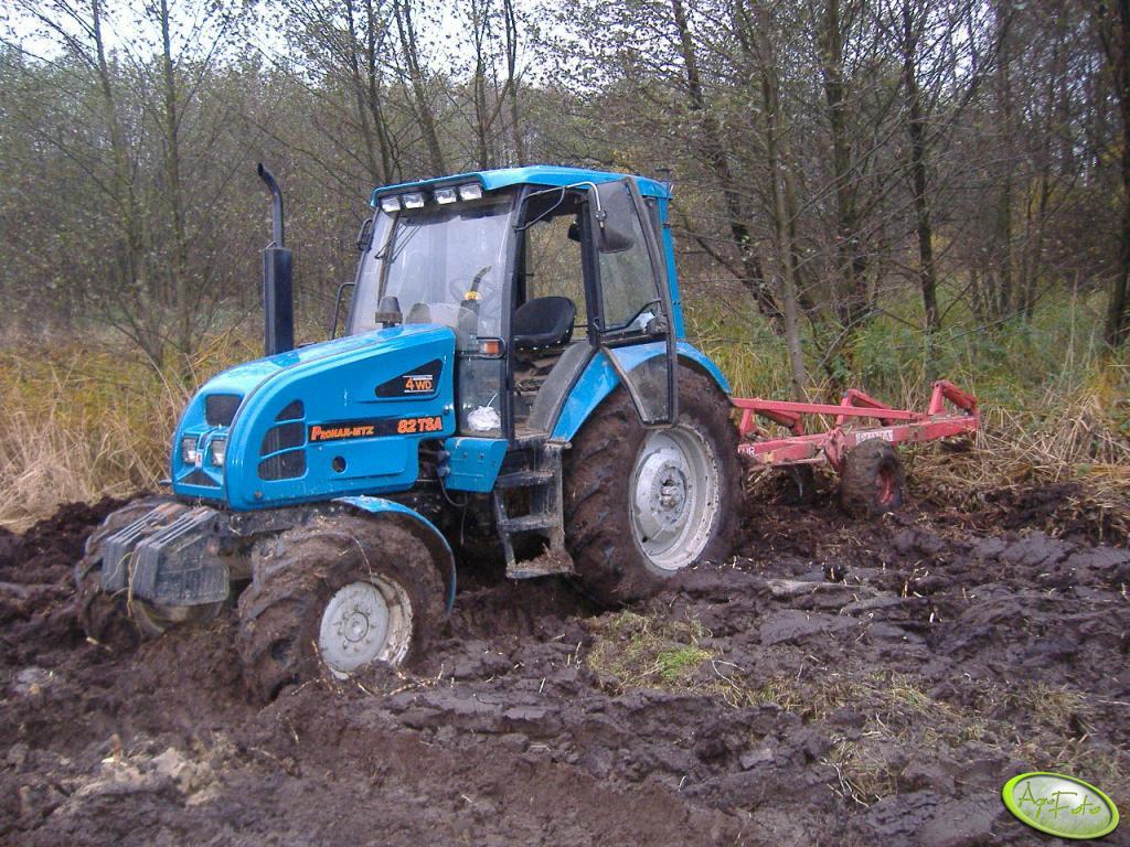 Traktor Pronar 82TSA + Pług UNIA-TUR