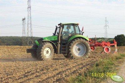 Traktor Deutz-Fahr Agrotron 180 + kret