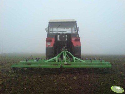 Ciągnik rolniczy Zetor 7745 + bomet 3m
