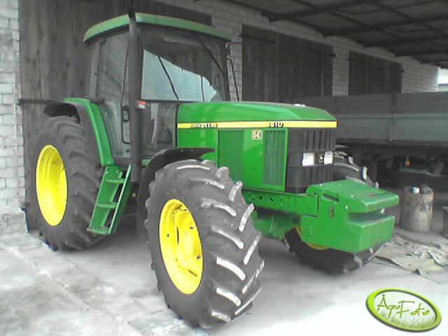 John Deere 4445 : Zdjęcie traktor john deere se