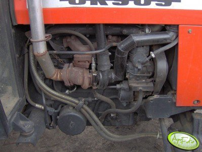 Turbosprężarka Ursus 5314 od mercedesa