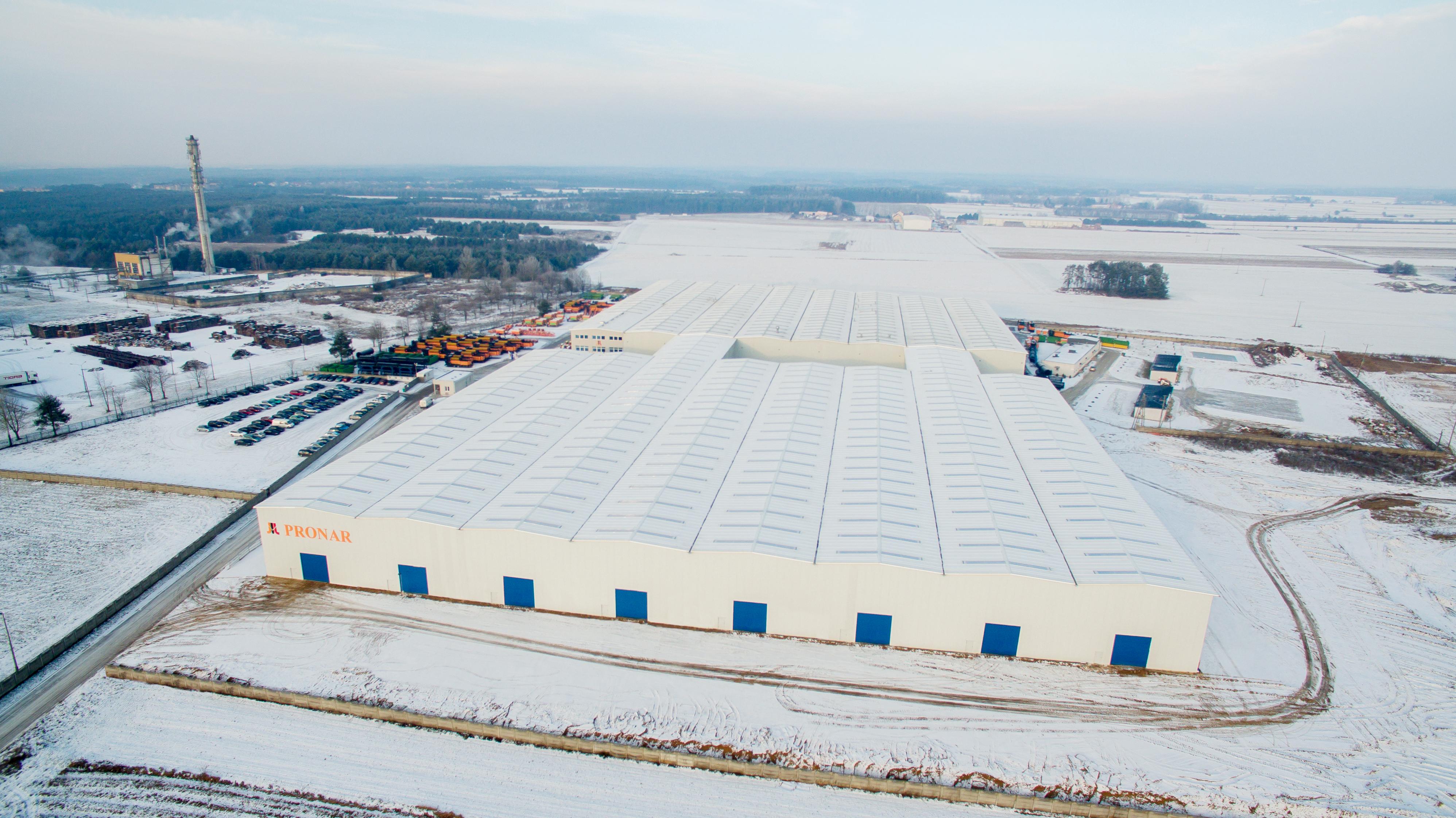 PRONAR otworzył w Siemiatyczach nową halę produkcyjną