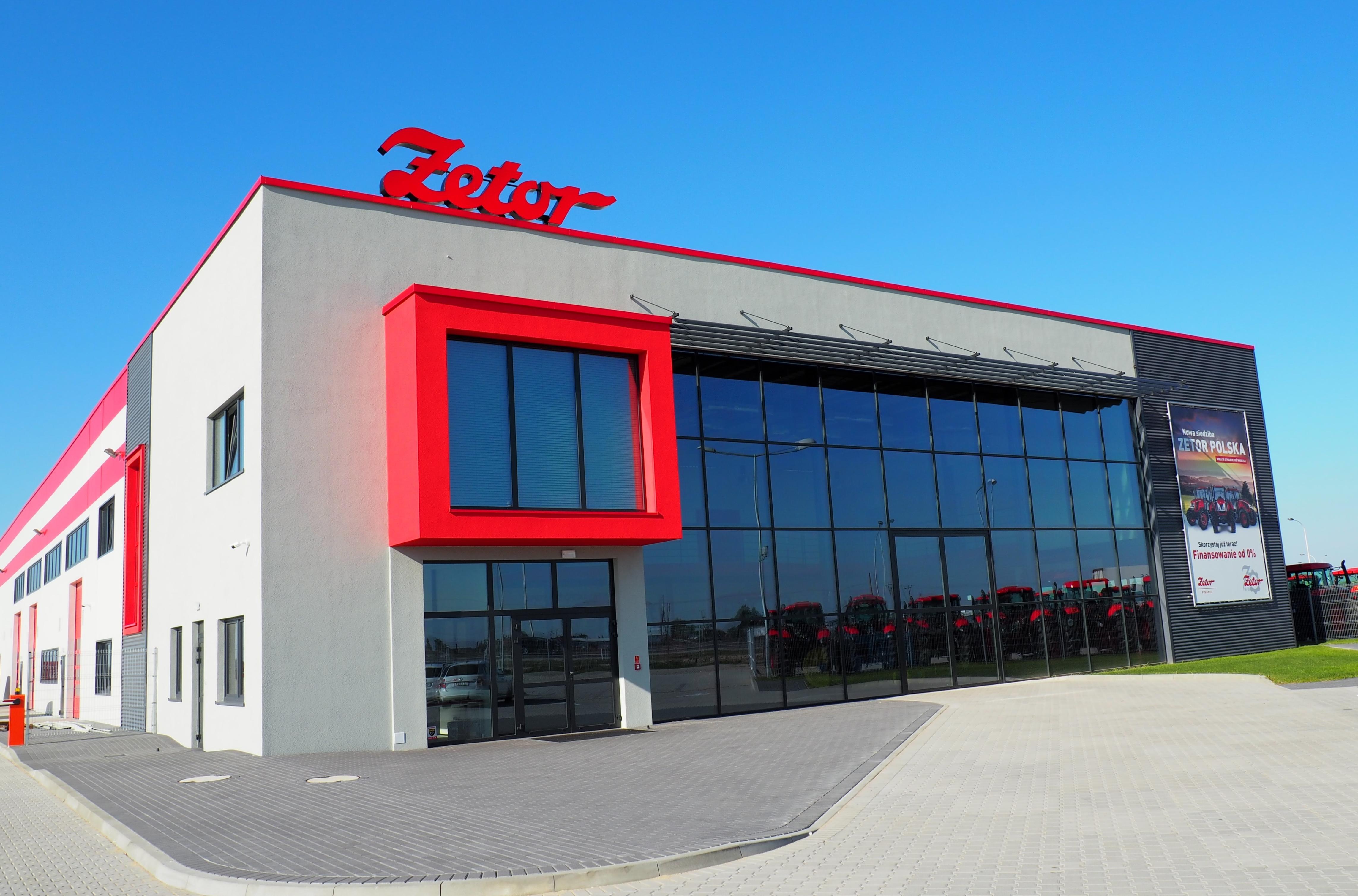 Otwarcie nowej siedziby ZETOR POLSKA zapewnia wyższą jakość usług