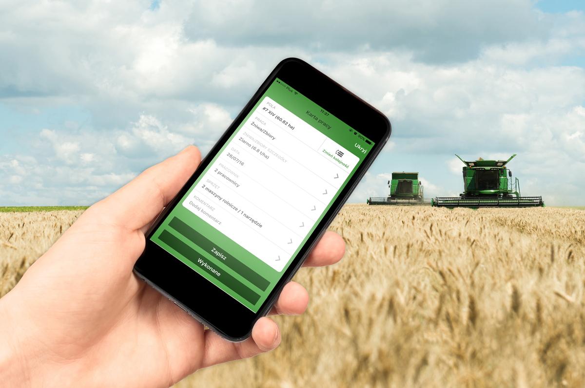 Efektywne rolnictwo a nowe technologie
