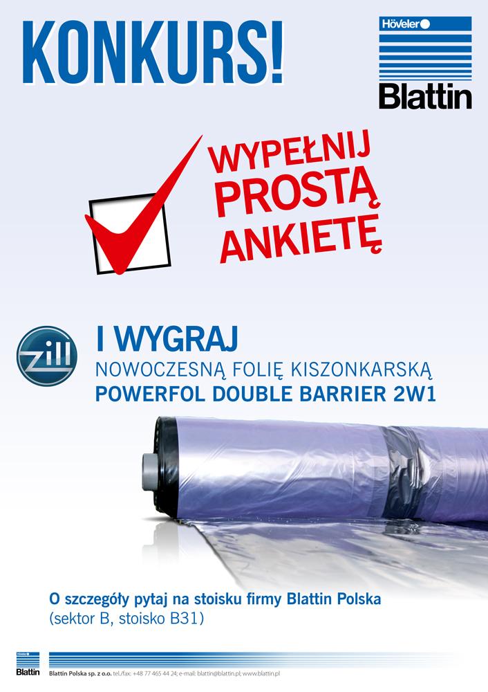 Konkurs Blattin Polska na targach AGRO-SHOW 2014