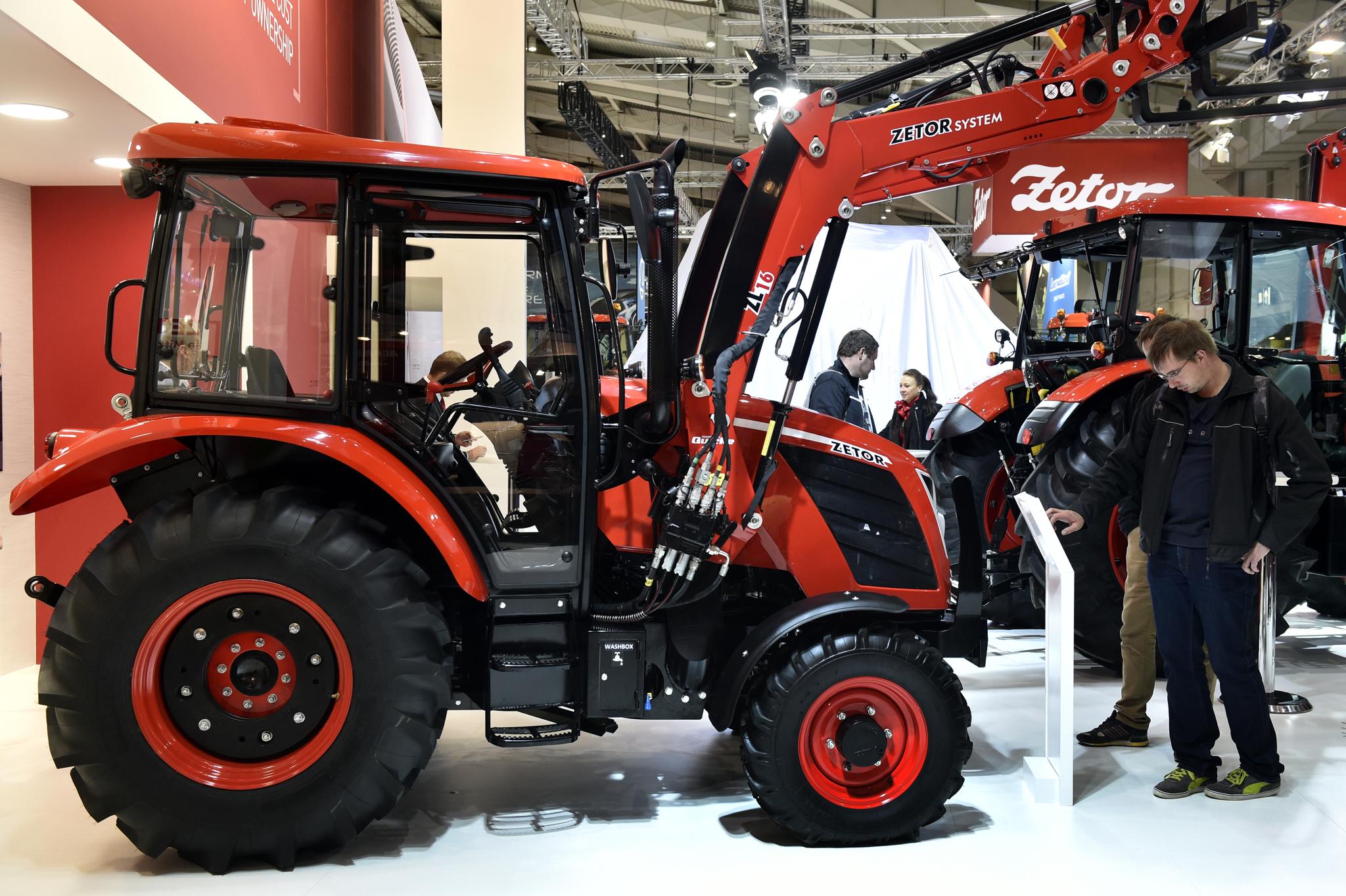 ZETOR osiągnął nadzwyczajny sukces na Agritechnice, największych targach rolniczych w Europie