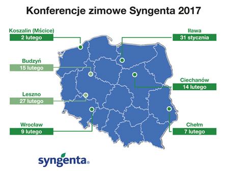 Konferencje Zimowe Syngenta zakończone rekordową frekwencją - w spotkaniach uczestniczyło ponad 2500 rolników.