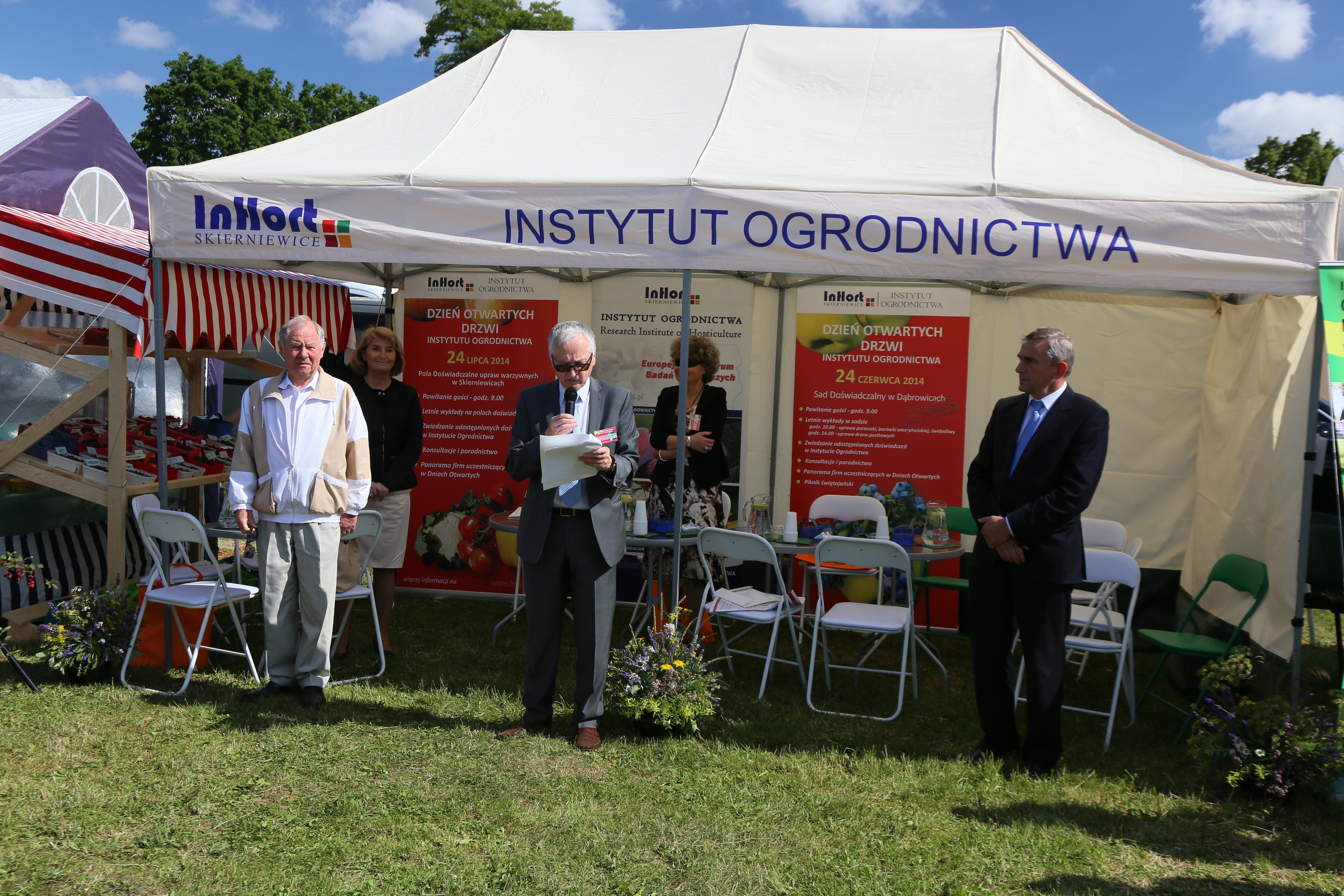 XVII Dzień Otwartych Drzwi Instytutu Ogrodnictwa w Dąbrowicach