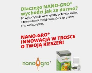 Nano-Gro - plony wyższe o 14 proc.- Wyniki