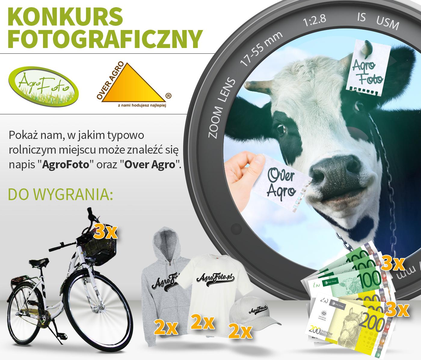 Konkurs - Do wygrania rowery, overy i gadżety!