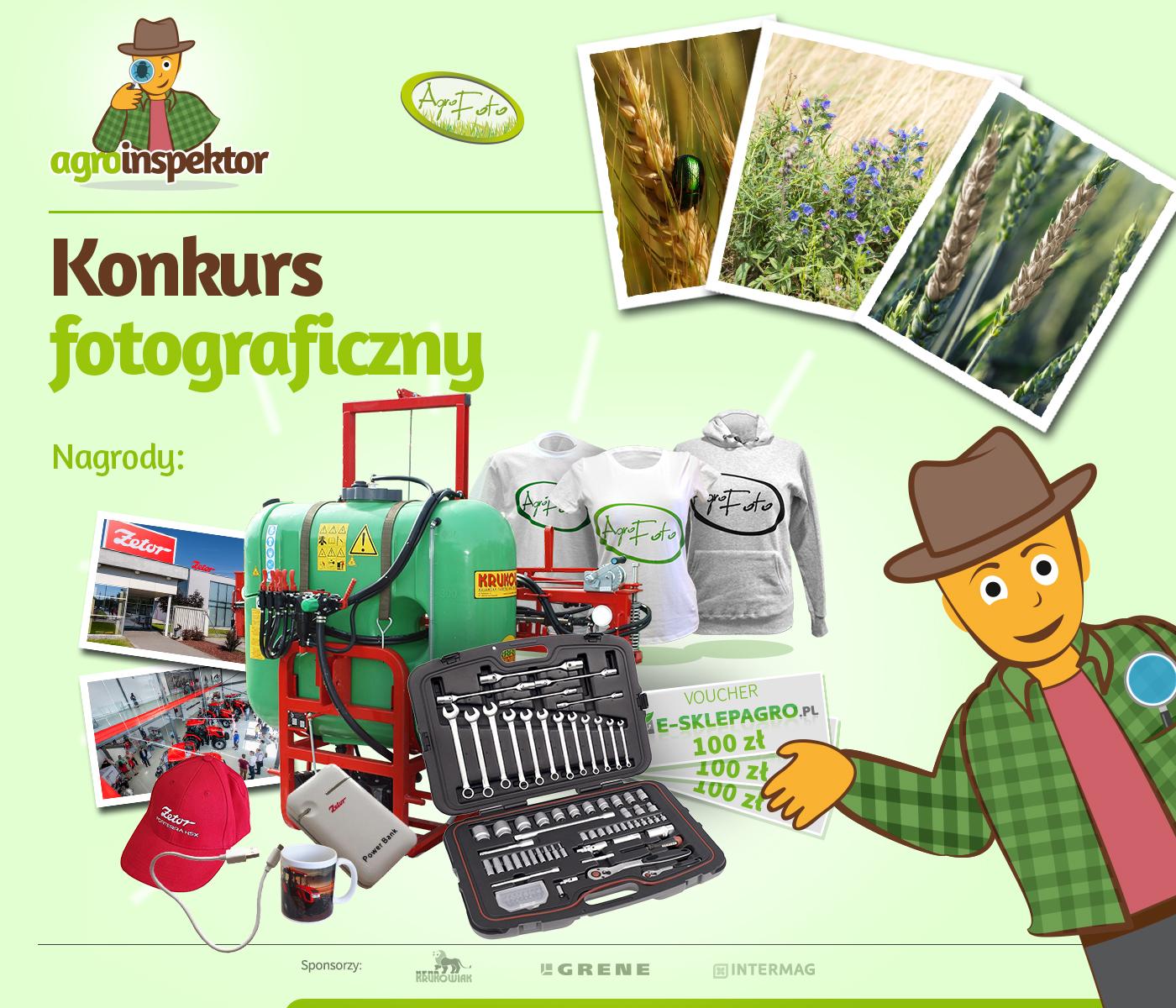 Agroinspektor - zbuduj z nami galerię agrofagów!
