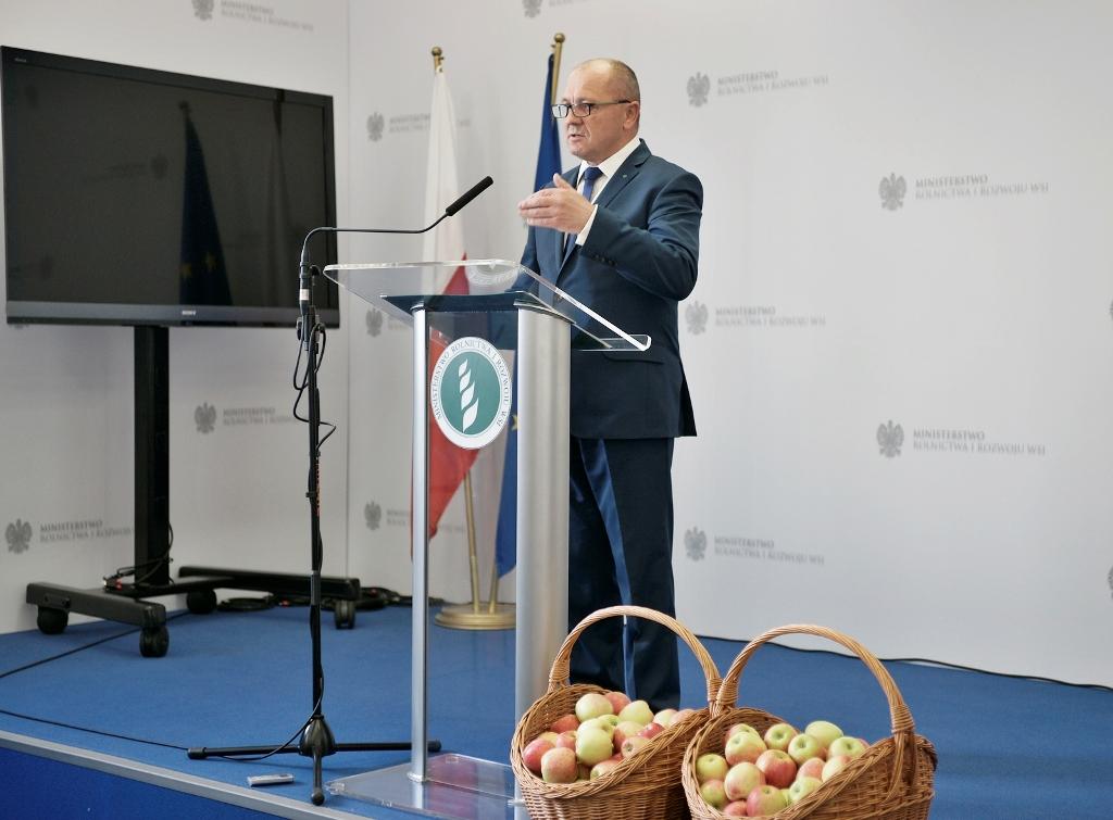 Minister apeluje do prezydenta Putina