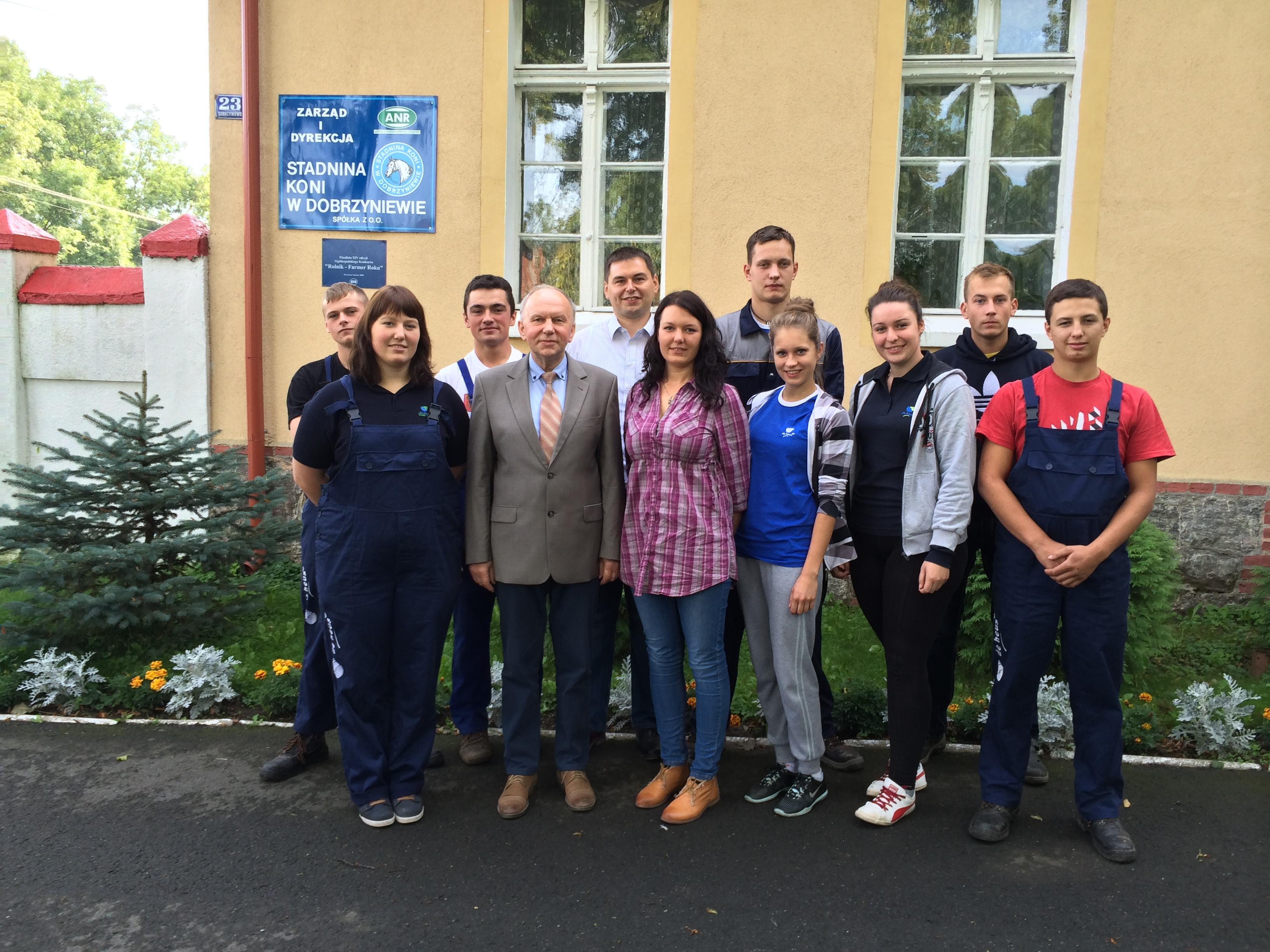 """Szkolenie Fundacji """"Młody Hodowca"""" w Dobrzyniewie"""