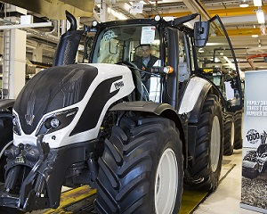 Valtra świętuje produkcję 1000-go ciągnika nowej serii T czwartej generacji