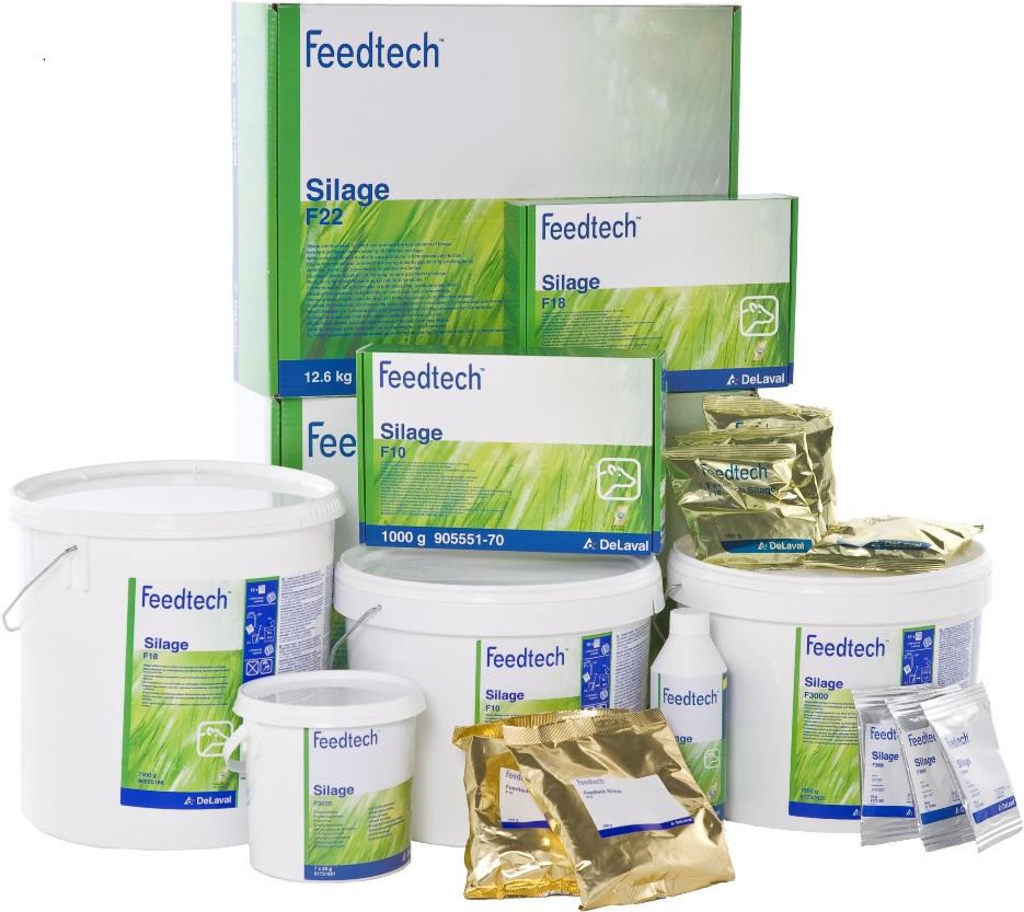 Najlepsza jakość kiszonek dzięki środkom do zakiszania DeLaval Feedtech -