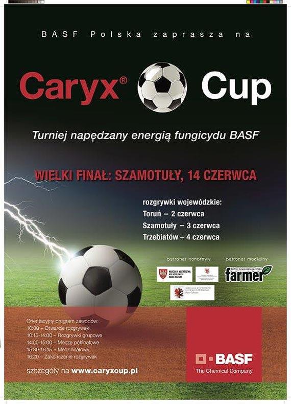 CARYX CUP 2014 - TURNIEJ NAPĘDZANY ENERGIĄ FUNGICYDU BASF