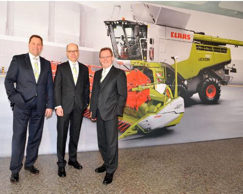 CLAAS odnotowuje stabilną sprzedaż i dochody