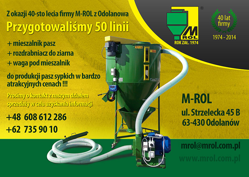 40lecie firmy M-ROL z Odolanowa