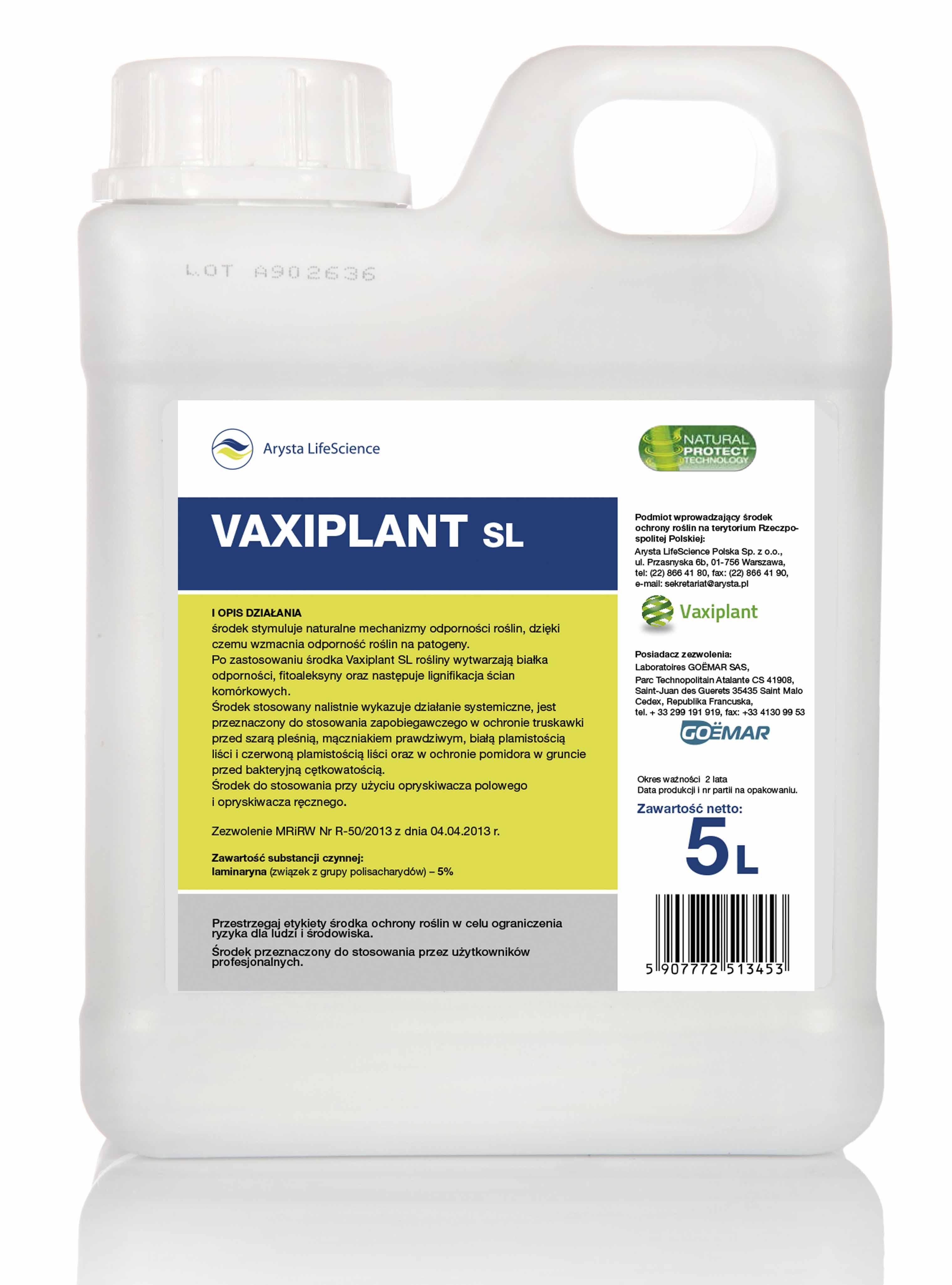 Vaxiplant SL – odporność przede wszystkim