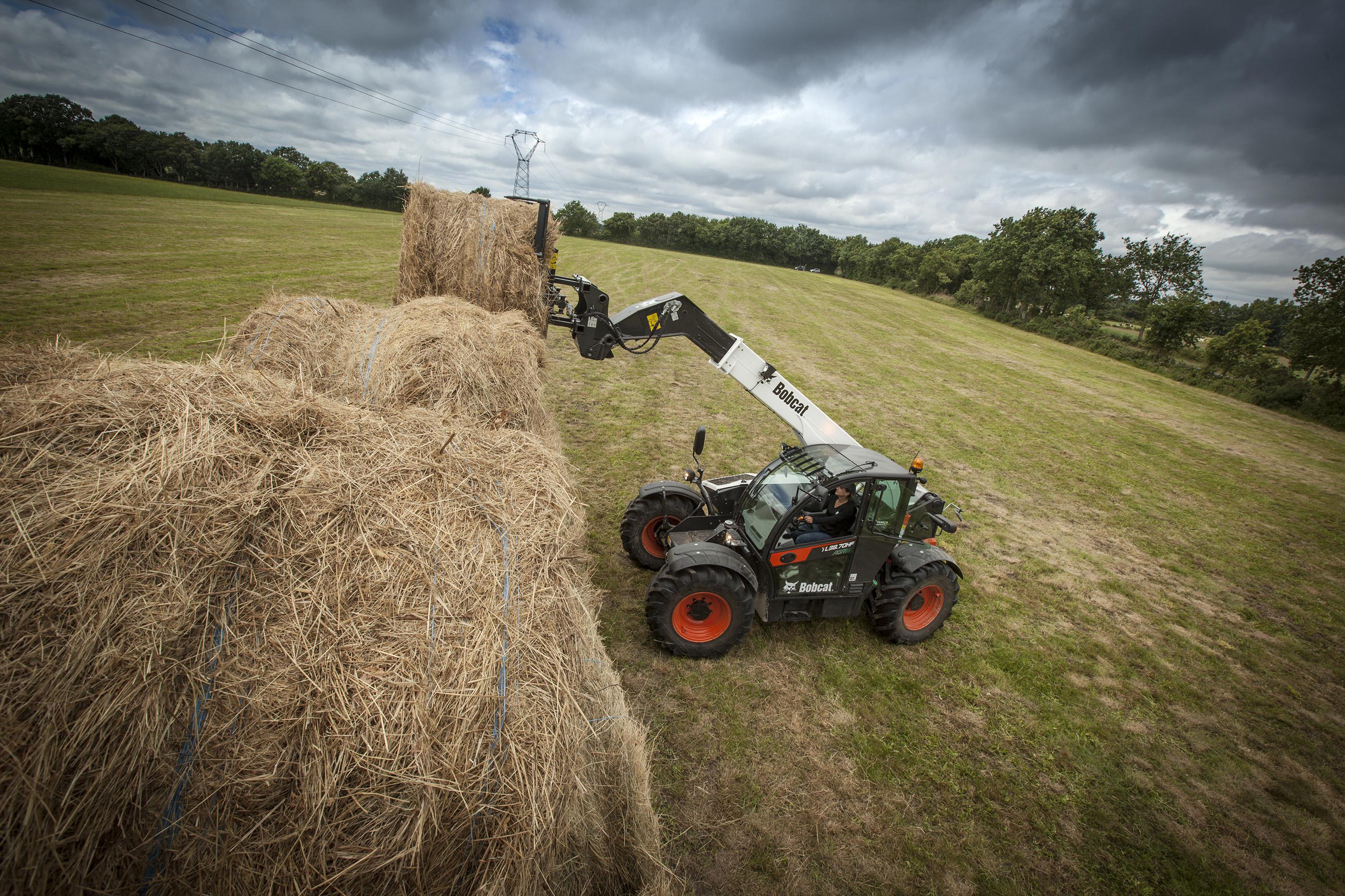 Nowa seria rolniczych ładowarek teleskopowych Bobcat