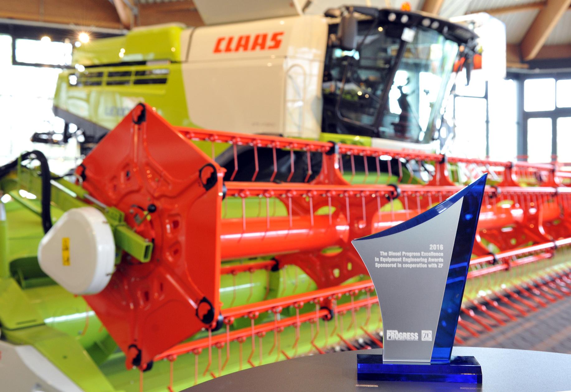 CLAAS wygrywa kombajnem LEXION 780