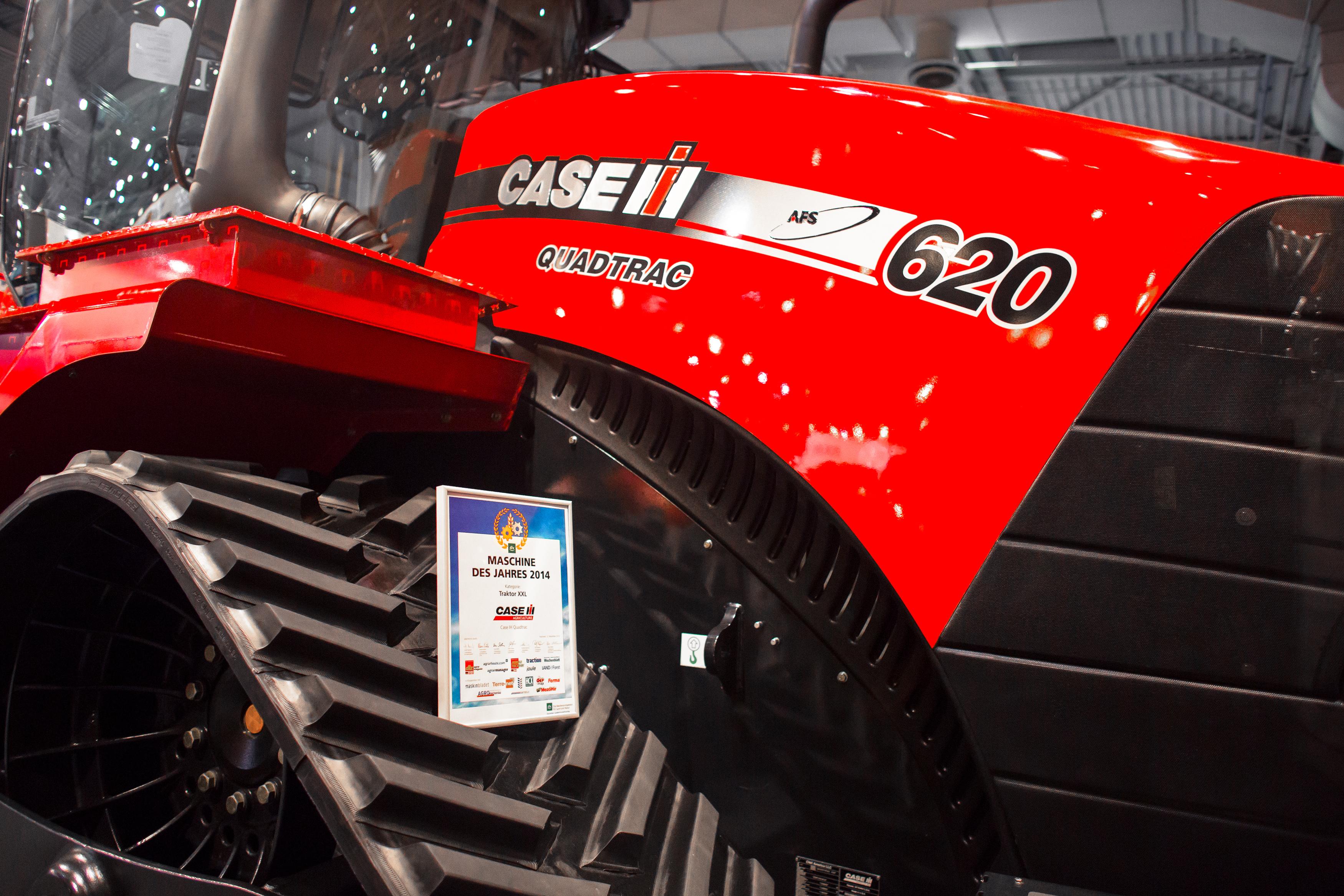 Case prezentuje nowości na Agro Show 2014