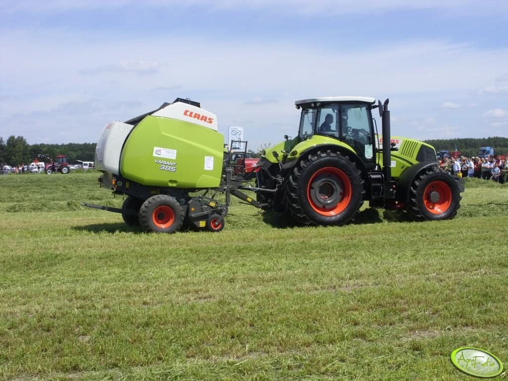Pokazy polowe maszyn zielonkowych CLAAS