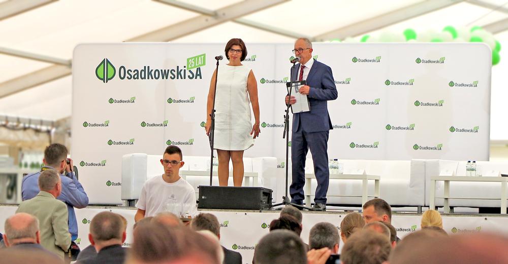 Firma Osadkowski SA obchodzi 25 urodziny