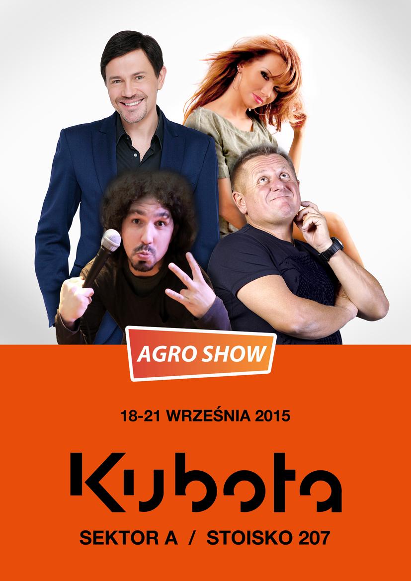 Kubota na Agro Show 2015 – moc atrakcji gwarantowana!