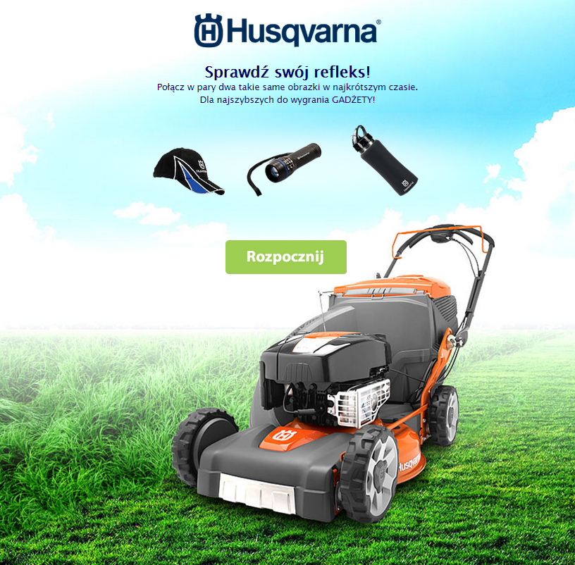 Sprawdź swój refleks z marką Husqvarna!
