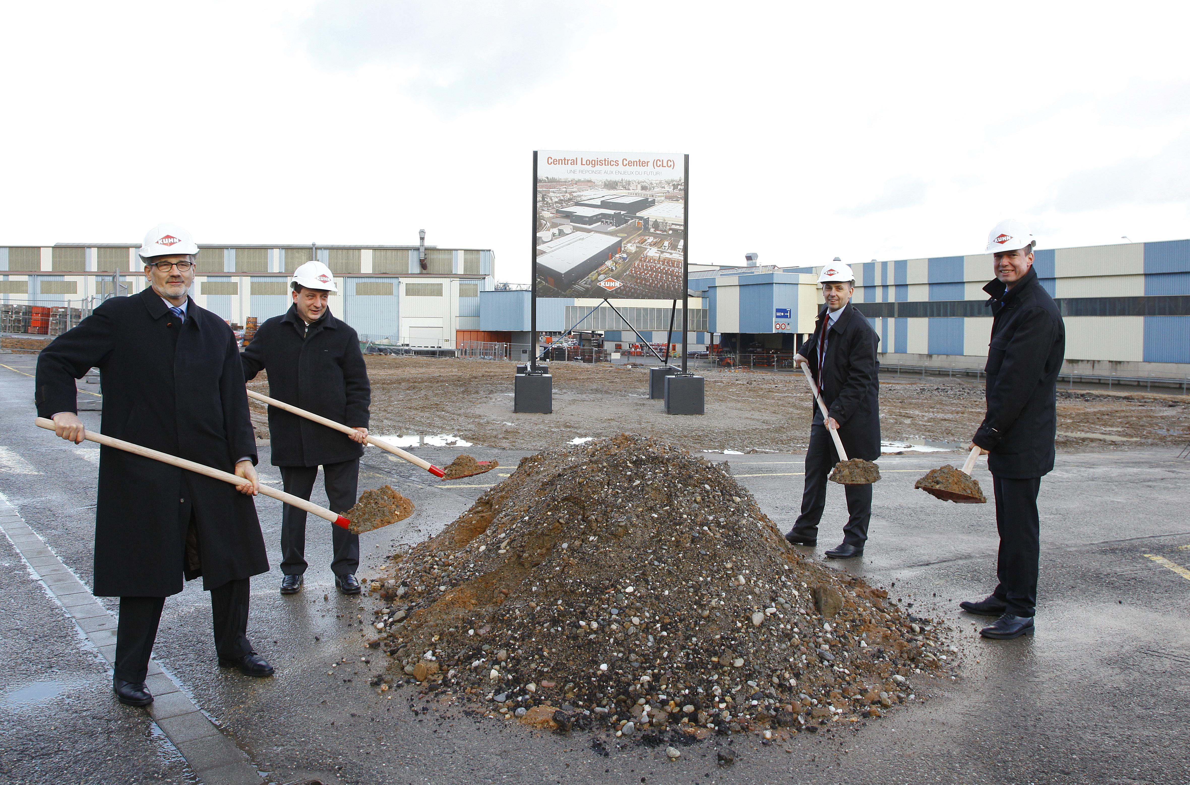 KUHN inwestuje 17 mln euro w nowe centrum logistyczne