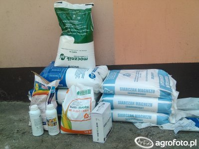 Środki ochrony roślin i nawozy