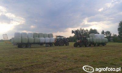 Traktor Valtra & Case